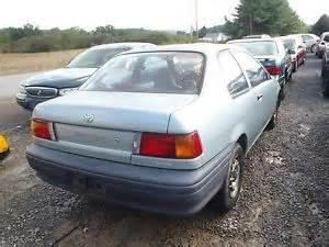 91 Toyota Tercel Rear Back Glass Window Toyota Tercel 91 92 93 94 Ebay