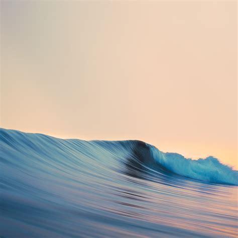 wallpaper apple wave ag48 rolling wave art simple minimal