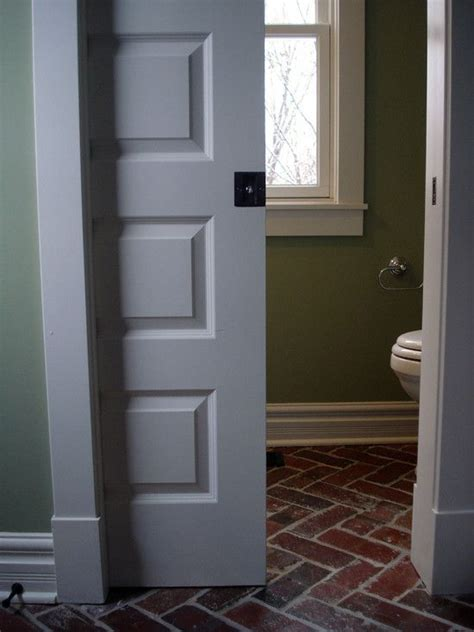 pocket door bathroom basically if i could have all pocket doors that would be awesome some paned some