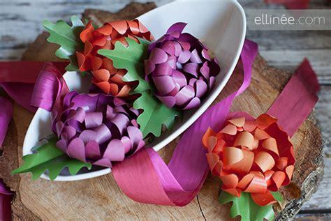 How To Make Paper Mums - como hacer crisantemos de papel para centro de mesa