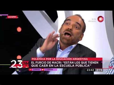 """El furcio de Macri: """"Están los que tienen que caer en la ... Caer En La Escuela Publica"""