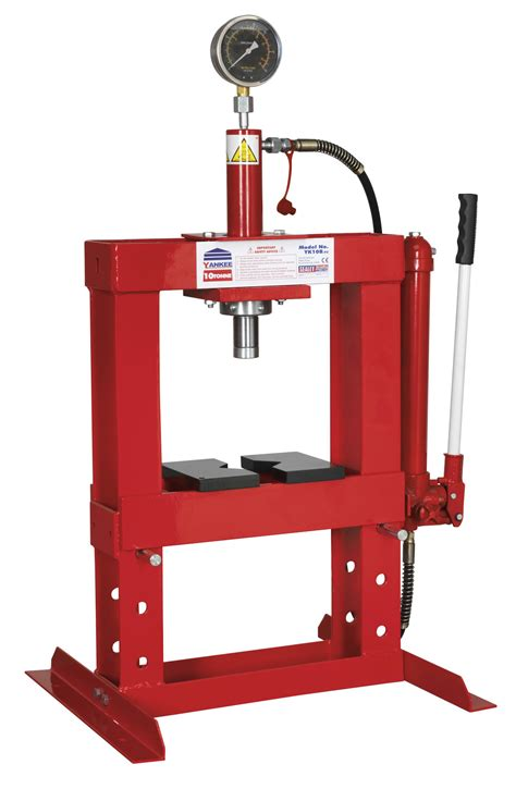 parts of hydraulic bench sealey hydraulic press 10tonne bench type tools today