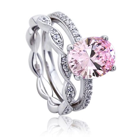 accent platinum plated sterling silver wedding