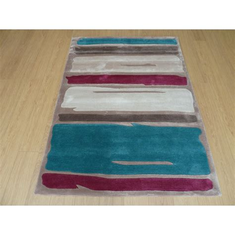purple and teal rugs blue purple modernern paint strokes rug carpet runners uk