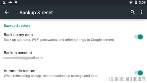 reset android backup password android customization how to factory reset your android