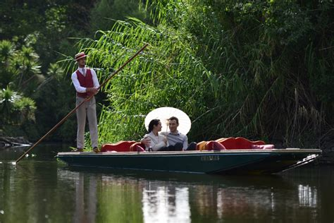 punt boat tour private guided boat tour punting on the lake reservations