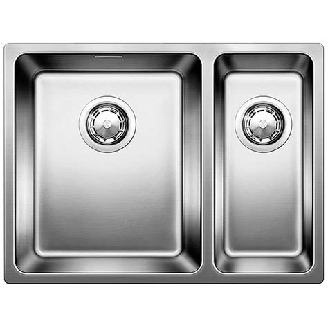 blanco andano 340 180 u bowls undermount kitchen sink and