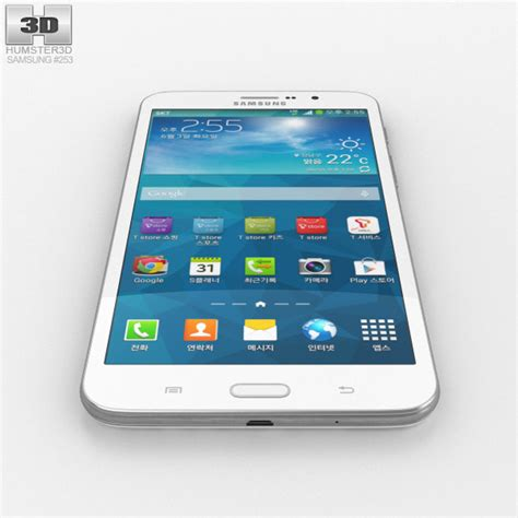 samsung galaxy w white 3d model hum3d