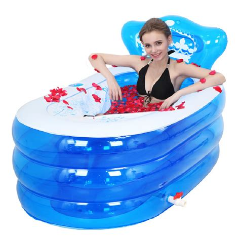 adult inflatable bathtub portable bath adult bathtub plastic inflatable bath tub