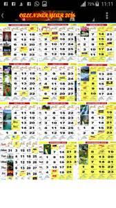 Plã Novacã Kalendã å 2018 Kalender Malaysia 2016 Calendar Template 2016