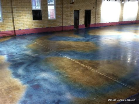 colored concrete floors the of polishing concrete
