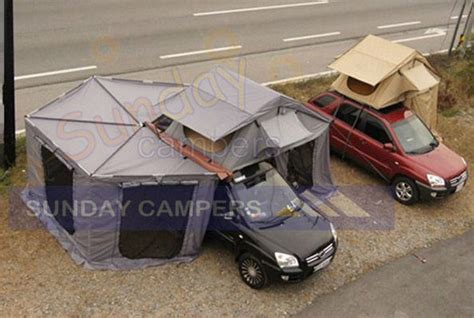 rooftop awning china roof top tent with foxwing awning china rooftop