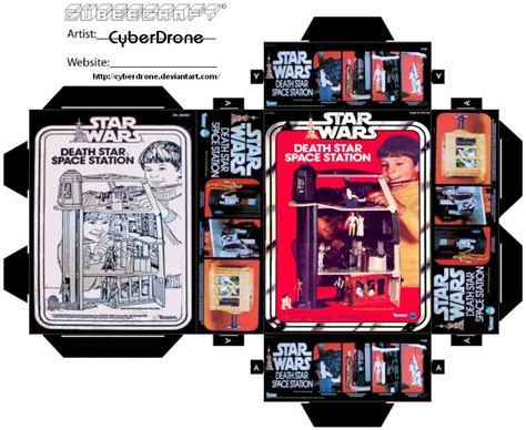 templates for toy boxes mini death star toy box by cyberdrone on deviantart