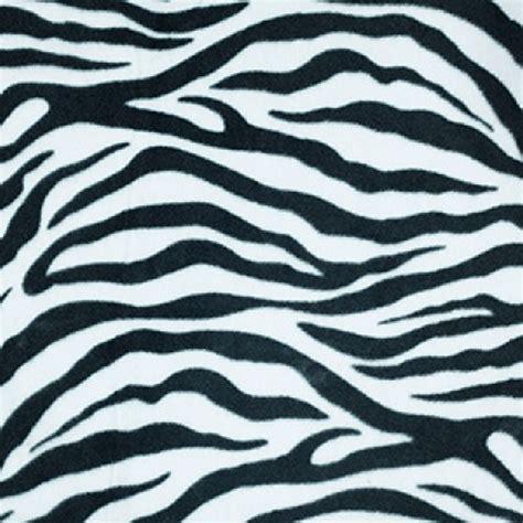 zebra pattern material anti pil polar fleece fabric animal print patterns zebra