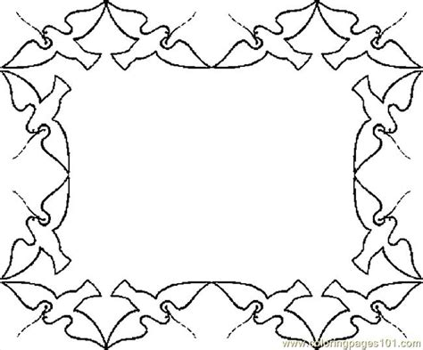 Coloring Page Border by Free Borders To Colour Coloring Pages