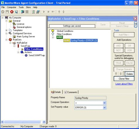 send snmp trap send generic snmp traps with monitorware agent