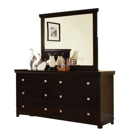 foles espresso dresser with optional mirror