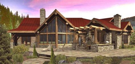 modelos de casas rusticas modelo de casa r 250 stica y elegante de madera y piedras de