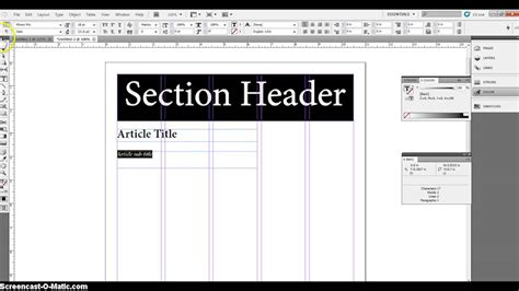 template layout paper basic newspaper layout youtube
