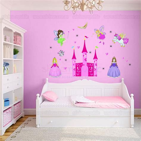 Disney Princess Room Decor Disney Princess Castle Wall Decal For S Room Decor