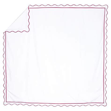 Vinna Magenta vienna scallop duvet cover sham pink magenta pbteen