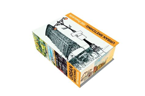 libro urban sketching 100 postcards bookshelf january edition architecture now