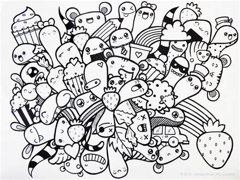 doodle karakter gambar doodle karakter lucu dan keren gambar co id