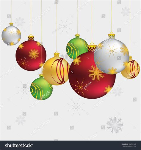 beautiful christmas balls decorative ornaments on grey