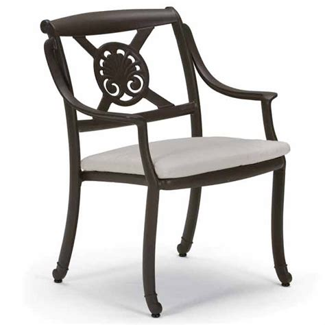 Chair With Pad by Tropitone 31092405 Belmar Belmar Cast Dining Chair With