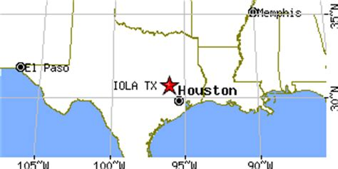 iola texas map iola texas tx population data races housing economy