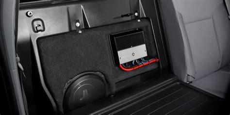 car audio stealthbox toyota tacoma toyota tacoma access cab double cab