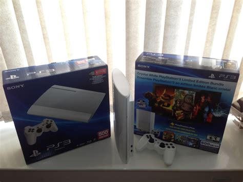 Ps3 Superslim White ps3 slim white pictures playstation 3 bomb