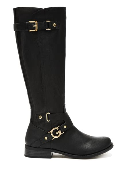 g by guess s hurdle logo boots ebay