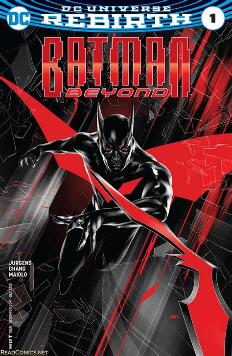 batman beyond vol 2 rise of the rebirth comic books 101 dc rebirth review 2017 lrm