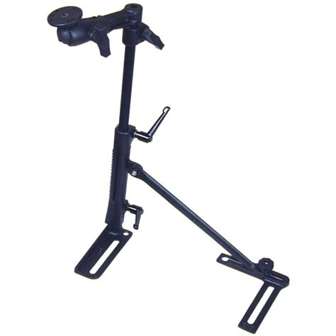 swing arm mount ram mount vehicle seat rail with swing arm mount