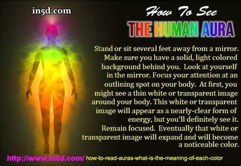 colors of aura how to read auras what is the meaning of each color