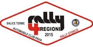 automobile club pavia rally 4 regioni 2015 si scaldano i motori motori storici