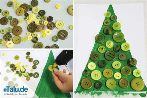 Tannenbaum Basteln Aus Naturmaterialien by Weihnachtskarten Basteln Mit Kindern Diy Tutorial Talu De