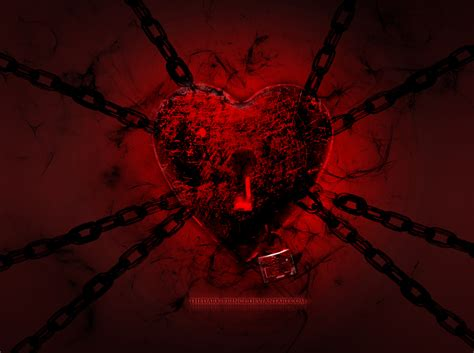 wallpaper dark heart 20 lovely valentines day inspired wallpapers blaberize