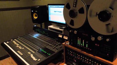 Mixer Bekas 24 Chanel mackie 24x8 analog mixer tascam 8 tracks reel to