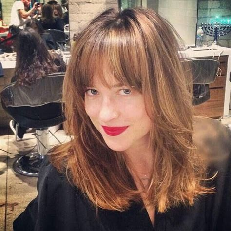 how to cut dakota johnsons hair celebrities inspired hair colors for 2017 2017 haircuts