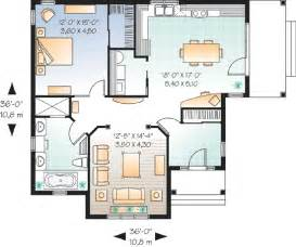 smart way for designing one bedroom home plans one bedroom