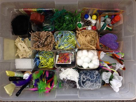 kid craft box showers bring the inside by creating the
