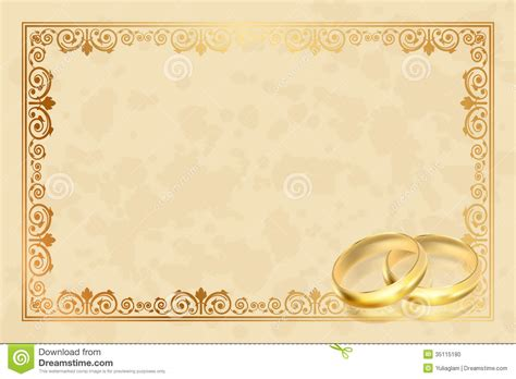 cornici publisher parchment frame with gold rings stock vector