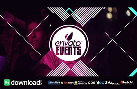 Club Festival Event Promo Free Download Videohive Template Free After Effects Template Event Promo Template Free