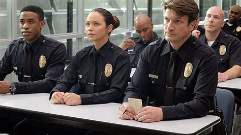 nathan fillion the rookie uk drama round up eone fremantle strike deals for rookie