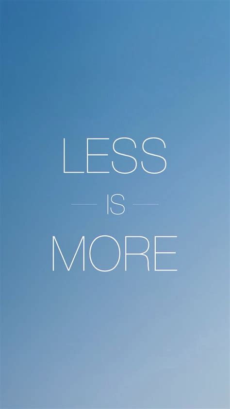 Less Is More by Less Is More Iphone 5 Wallpaper 640x1136