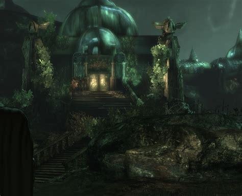 Batman Arkham Asylum Botanical Gardens Botanical Gardens The Arkham Universe Wiki Fandom