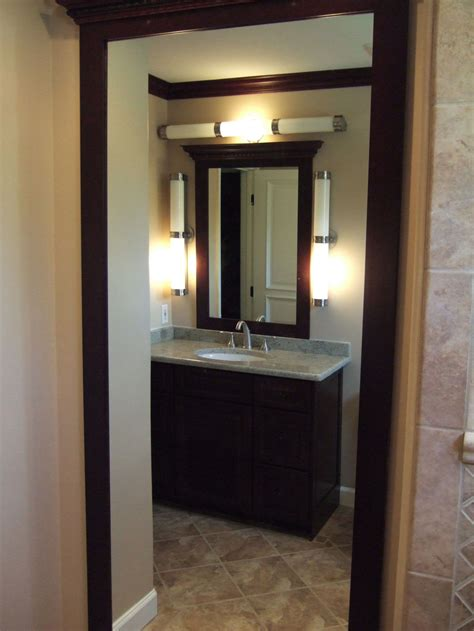 Bathroom Mirror Frame Ideas bathroom vanity lighting covered in maximum aesthetic