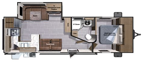 30 foot travel trailer floor plans 30 foot travel trailer floor plans 28 images pin by